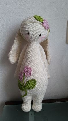 RITA the rabbit made by Yt H. / crochet pattern by lalylala