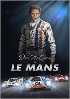 Steve McQueen is back in Le Mans. Discover the best art graphic novel on car racing ever made. The novel is based on the cult movie Le Mans Steve Mcqueen Le Mans, Steve Mcqueen Movies, Steve Mcqueen Style, Steven Mcqueen, Le Mans 24, 24h Le Mans, Cincinnati, Course Automobile, Version Francaise