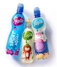 + Design de embalagem :   Veja o antes e depois, das embalagens da linha Jupík, desenvolvido pela agência Pergamen.