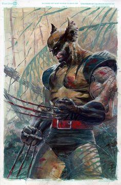 #marvel #marvelcomics #wolverine #logan #x-men #superheroes #adamantium #comicwhisperer