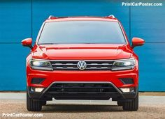 Volkswagen Tiguan [US] 2018 poster, #poster, #mousepad, #tshirt, #printcarposter