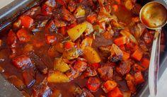 Irlantilainen Guinnes-lihapata | Liha-juurespataa oluessa Löydä herkullinen resepti Korianteri blogista: http://www.korianteri.fi/irlantilainen-guinnes-lihapata-liha-juurespataa-oluessa/