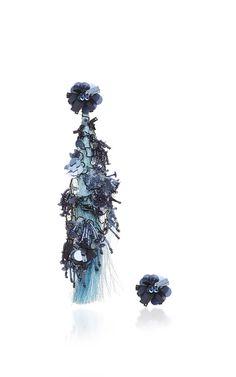 Fantasy Earrings In Celeste Blue by JOHANNA ORTIZ for Preorder on Moda Operandi