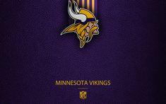 Minneapolis, Nfl, American Football, Minnesota Vikings Football, Leather Texture, National Football League, Sport, Leather, Vikings