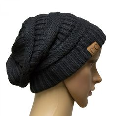 862353eb657 Easy-W Charcoal Grey Winter Hat Cap Fashion Cap- outdoor skiing (US Seller)  · Knit ...