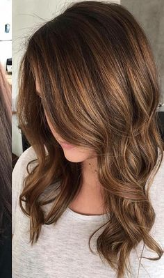 I love this length, with the layers and curls. Looks amazing