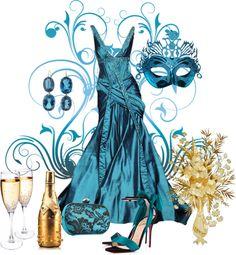 """Mardi Gras"" by sherryvl on Polyvore"