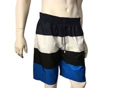 67d3a60569 Black Blue Swim Shorts in 2018 | Louis Vuitton Swim Shorts | Swim ...