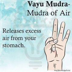Vayu Mudra Mudra of air Releases excess air from your stomach massage management Meditation Musik, Chakra Meditation, Kundalini Yoga, Pranayama, Yoga Mantras, Hand Mudras, Qi Gong, Types Of Yoga, My Yoga