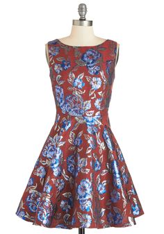 Leaves of Luxury Dress | Mod Retro Vintage Dresses | ModCloth.com