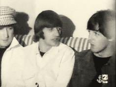 "alexandrapermyakova: "" John, Ringo and Paul """