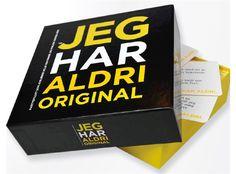 Jeg Har Aldri - Original - Kortspill Ville historier og Pinlige hendelser! - Gamezone.no