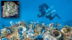 Ναυάγιο Αντικυθήρων: Ξεκόλλησαν οι έρευνες - Εντυπωσιακές φωτογραφίες από τα ευρήματα Civilization, Greece, Painting, History, Books, Art, Greece Country, Art Background, Historia