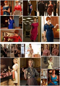 mad-men-fashion: love the clothes on this show.