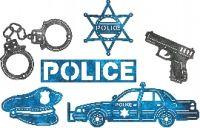 Fru Hansen 94kr: CL Die Police B537,  bilen 92x34mm, cheery lynn