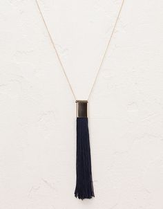 Bershka Hungary - Long fringe necklace