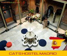 Cat's Hostel a Madrid