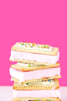 Pop Tart Ice Cream Sandwich Recipe