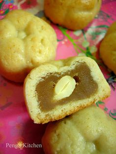 Mini Butter Nutty Mooncakes