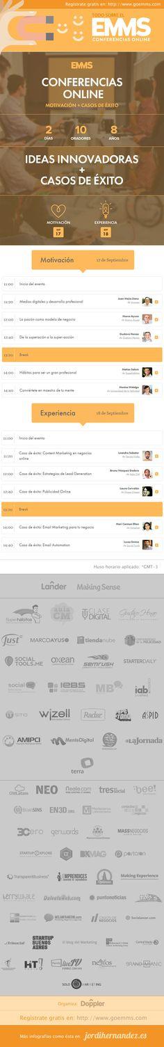 EMMS: El mayor evento de marketing digital de habla hispana