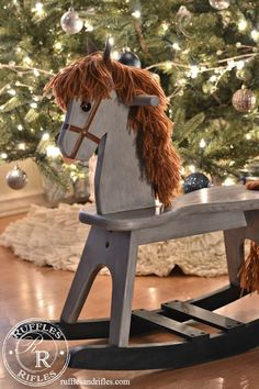 Wooden Rocking Horse Hello everyone. Thanks again for stopping by. I hope you are finding time in the midst of the busyness to enjoy and be thankful for the moments. I've had a mix of excitement and grief this week as my amazing Grandfather went to his eternal abode. He was a phenomenal man (and ...