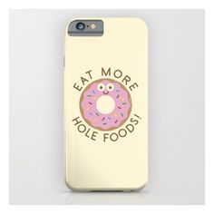 Do's And Donuts iPhone & iPod Case ($35) ❤ liked on Polyvore featuring accessories, tech accessories and iphone & ipod cases
