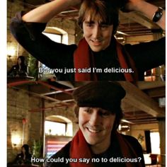 Wonderfalls #quote How could you say no to delicious? Lee Pace as Aaron Tyler