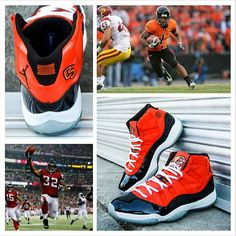 save off 565af 8196a Air Jordan 11 Oregon State Custom for Jacquizz Rodgers