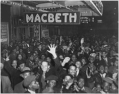 These images are from the Franklin D. Roosevelt Library's collection of Works Progress Administration (WPA) photos, showing an African American production of Macbeth circa Works Progress Administration, Sculpture Painting, Black Pride, New York Public Library, Roosevelt, Hd Photos, African, Culture, Black And White