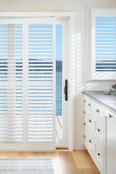 Luxaflex PolySatin Shutters, Kitchen Blinds Solutions