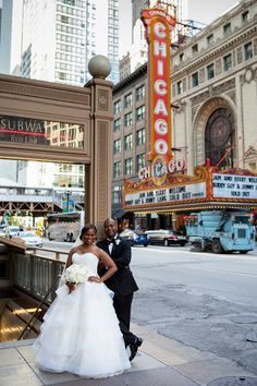 Chicago bride Amber looks gorgeous in her Anne Barge gown!