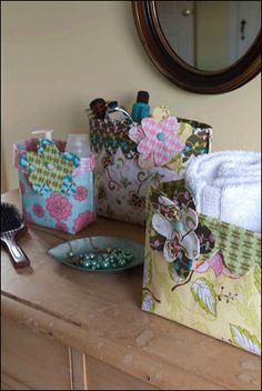 Quilt Magazine | Quilt Magazine » Blog Archive » Quick Quilts#107 – Hold Everything Small and Medium Bins