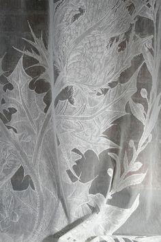 Thistle Lace fabric