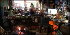 Geek Room by Oscar Perez Ayala | Realistic | 3D | CGSociety