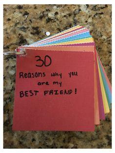Diy Best Friend Gifts, Bestie Gifts, Presents For Best Friends, Diy Bff Gifts, Birthday Present Ideas For Best Friend, Bestfriend Present Ideas, Best Friend Christmas Gifts, Bestfriend Birthday Ideas, Christmas Diy