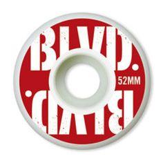 BLVD Stacked - White - 52mm