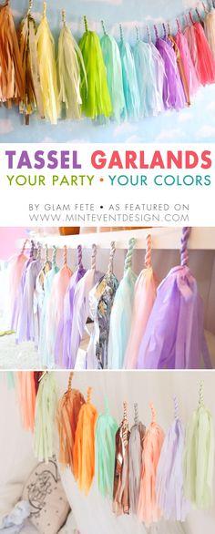 wooden party dresses Children/'s display Girl/'s party garland Party dress bunting PARTY DRESS GARLAND