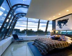 penthouse bedroom london
