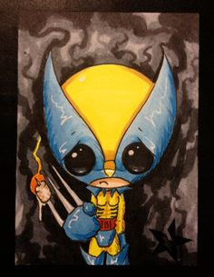 Hey, I found this really awesome Etsy listing at https://www.etsy.com/listing/156281934/sugar-fueled-wolverine-x-men-marvel
