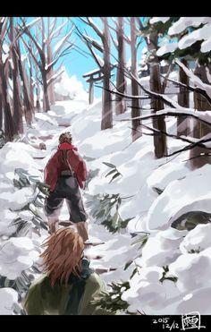 【版権】戦国BSR~らくがき詰め~ [50]Sarutobi Sasuke, Sengoku Basara, pixiv, Sanada Yukimura