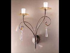 Collezione linea Teresa, lampadari in ferro battuto