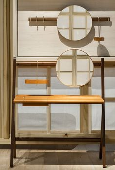 Ren furniture range by Neri & Hu act as supporting actors for main furniture pieces