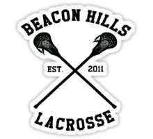lacrosse beacon hills teen wolf Sticker