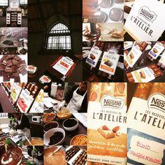 Une fin de journée chocolatée... #nestle #lesrecettesdelatelier #chocolat #tablette #instachocolate #yummy #event #blogger #105 #365virginieb3