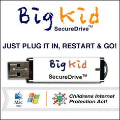 Kids / The Big Kid Secure Drive protects children not only from exposure to harmful websites but from obscene pop-ups as well as viruses. http://fuwuzetr.info/x/0/4989/62962/
