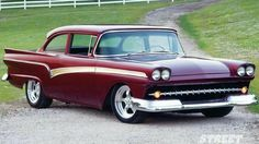 1957 Ford custom. (A favorite).