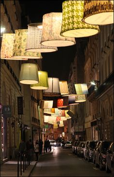 lamps installation - paris