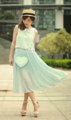 Zeliha's Blog: A Cute Way To Show Fashion  Style