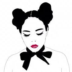 Xaviera López via INAG. Artists on tumblr. | Lustik