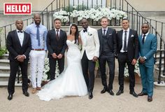 Ledley King and new wife Amy Kavanagh share wedding photos with HELLO!